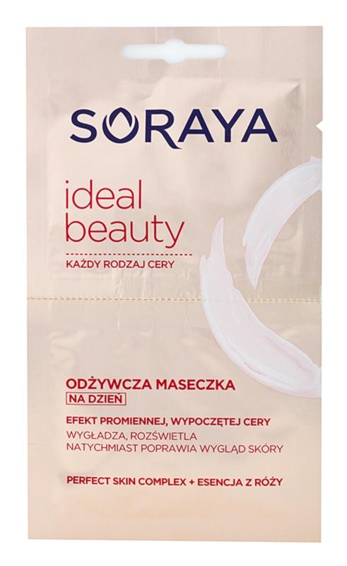 Soraya Ideal Beauty výživná maska pro zářivý vzhled pleti