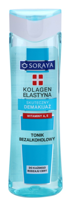 Soraya Collagen & Elastin čisticí tonikum s vitamínem A a E