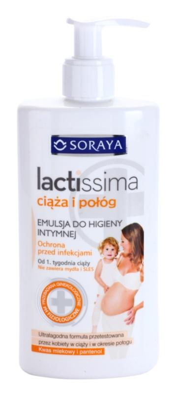 Soraya Lactissima emulsie pentru igiena intima pentru femei insarcinate si mame tinere