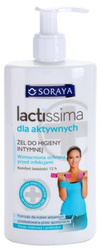 Soraya Lactissima gél na intímnu hygienu pre aktívne ženy
