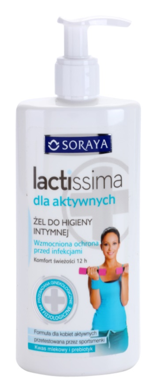 Soraya Lactissima Gel pentru igiena intima destinat femeilor active