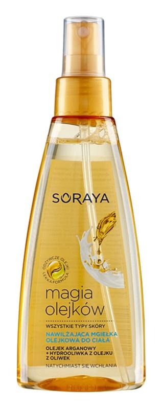 Soraya Magic Oils mgiełka do ciała o dzłałaniu nawilżającym