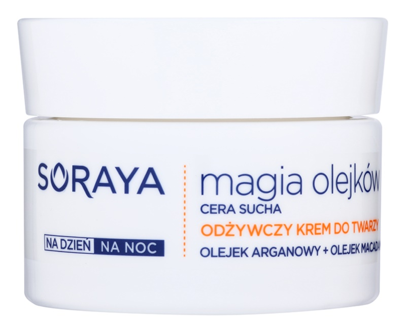 Soraya Magic Oils creme nutritivo para pele seca