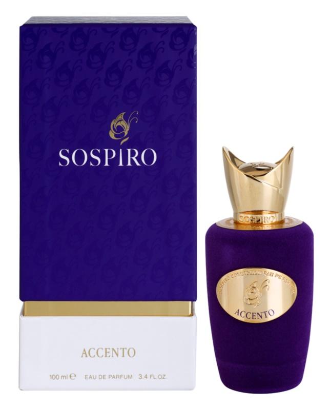 Sospiro Accento woda perfumowana dla kobiet 100 ml