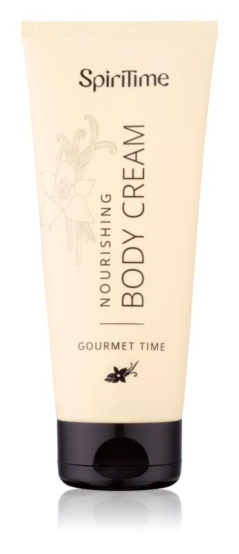 SpiriTime Gourmet Time crema de corp nutritiva