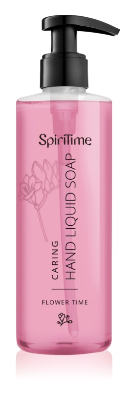 SpiriTime Flower Time Caring Hand Liquid Soap