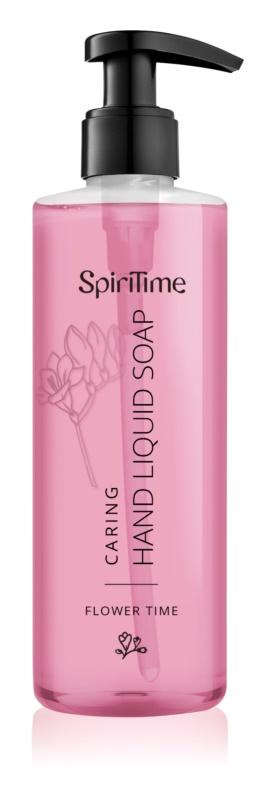 SpiriTime Flower Time Ošetrujúce tekuté mydlo na ruky