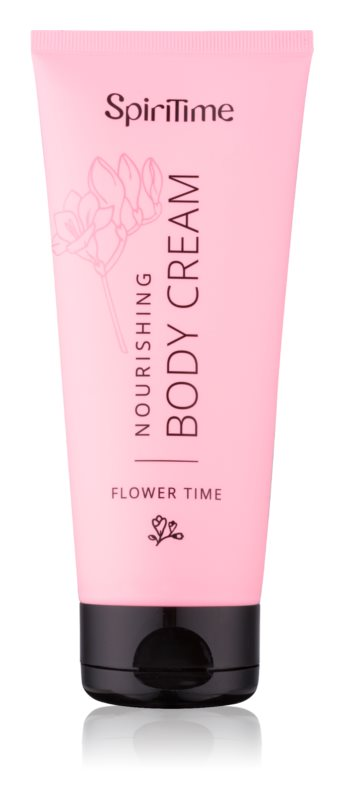 SpiriTime Flower Time поживний крем для тіла
