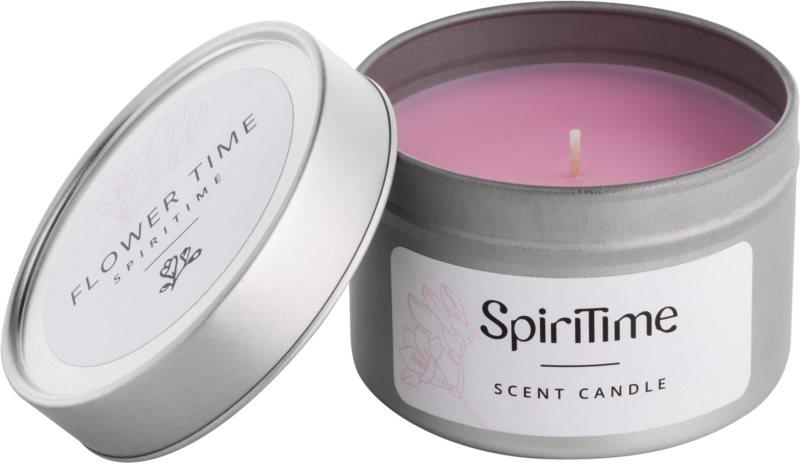 SpiriTime Flower Time vonná sviečka   v plechu