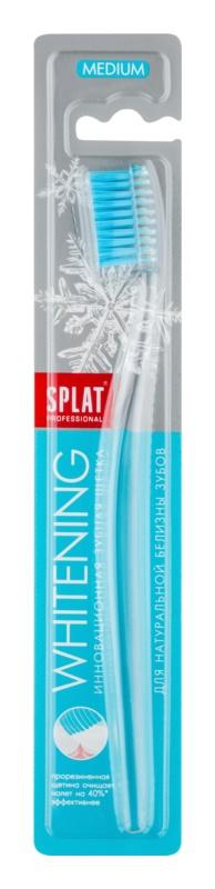 Splat Professional Whitening escova de dentes medium
