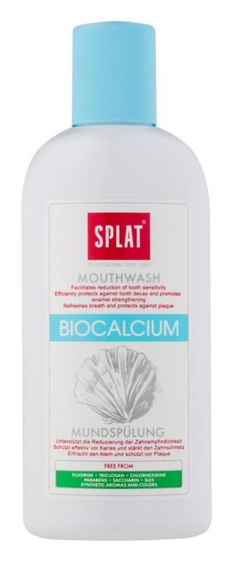 Splat Professional Biocalcium płyn do płukania jamy ustnej dla wzmocnienia i odnowy szkliwa bez fluoru