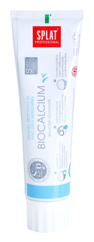 Splat Professional Biocalcium bioaktívna zubná pasta pre obnovu zubnej skloviny a šetrné bielenie