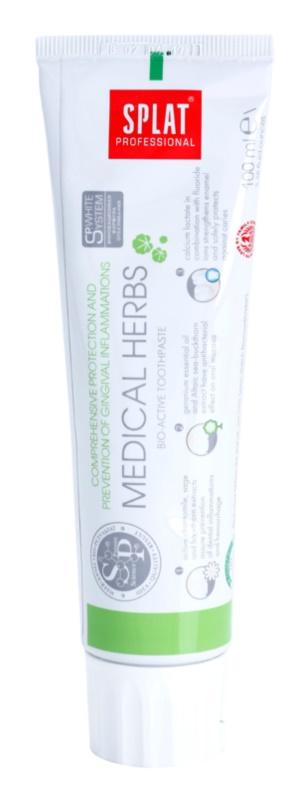 Splat Professional Medical Herbs bioaktivní zubní pasta pro komplexní ochranu a prevenci zánětů dásní