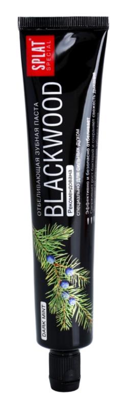 Splat Special Blackwood dentífrico branqueador para homens
