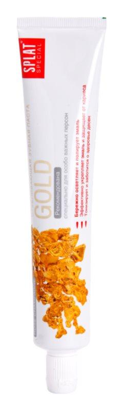 Splat Special Gold pasta de dientes blanqueadora