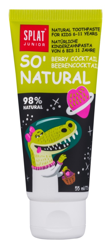 Splat Junior So' Natural pasta za zube za djecu od 6 - 11 godina