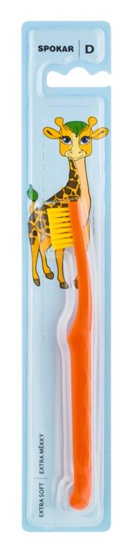 Spokar D 3432 Extra Soft szczotka do zębów dla dzieci