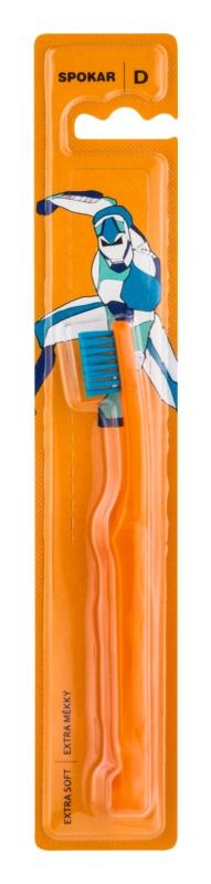 Spokar D 3432 Extra Soft zubní kartáček pro děti