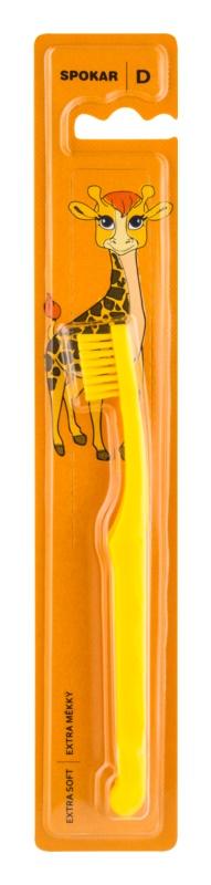 Spokar D 3432 Extra Soft Zahnbürste für Kinder