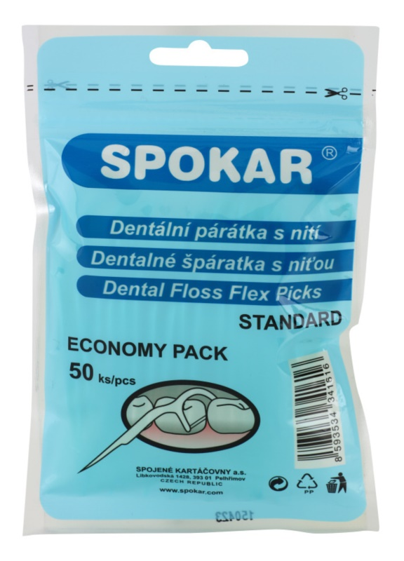 Spokar Dental Care palillos dentales con hilo