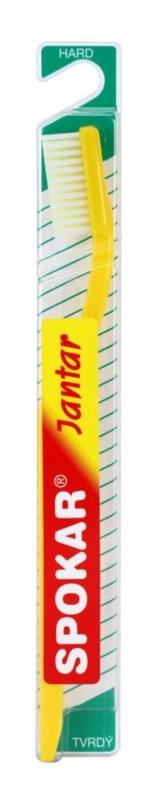 Spokar Jantar szczoteczka do zębów hard
