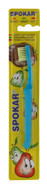 Spokar Kids escova de dentes para crianças soft