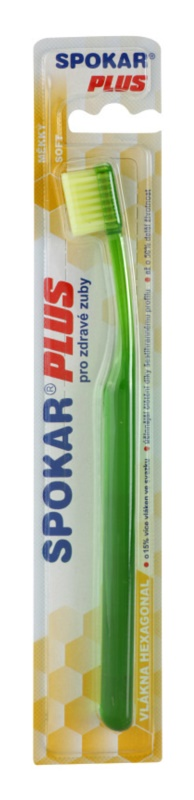 Spokar Plus zubní kartáček soft