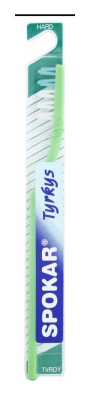 Spokar Tyrkys cepillo de dientes duro
