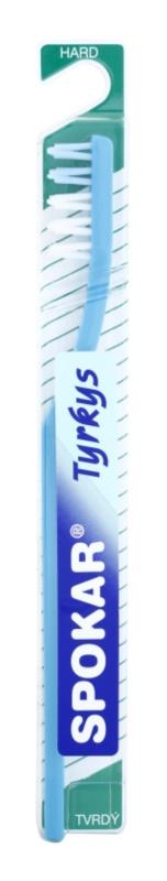 Spokar Tyrkys escova de dentes dura