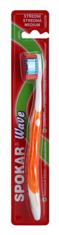 Spokar Wave fogkefe közepes