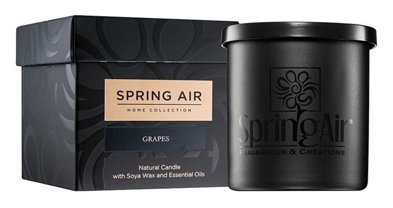 Spring Air Home Collection Grapes illatos gyertya  235 ml