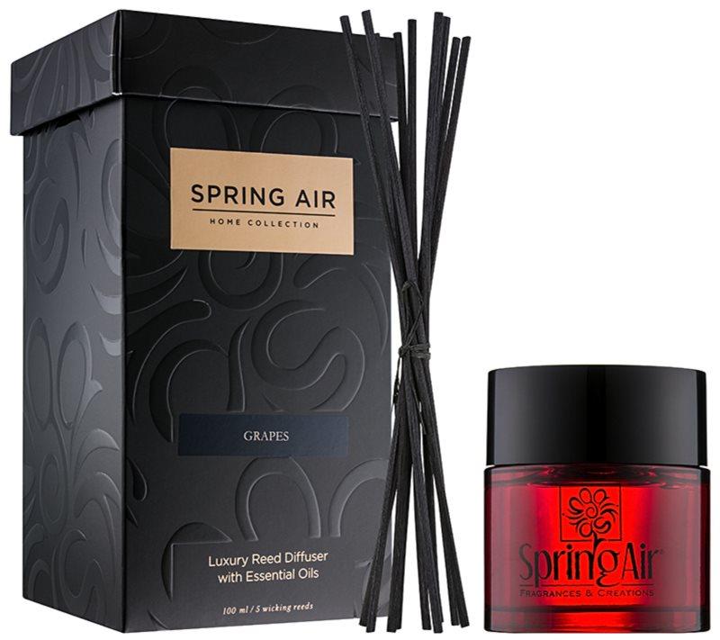 Spring Air Home Collection Grapes aróma difúzor s náplňou 100 ml