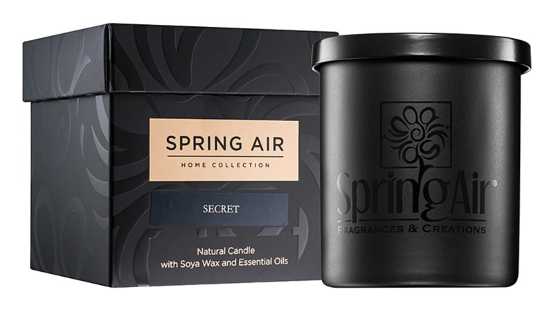 Spring Air Home Collection Secret bougie parfumée 235 ml