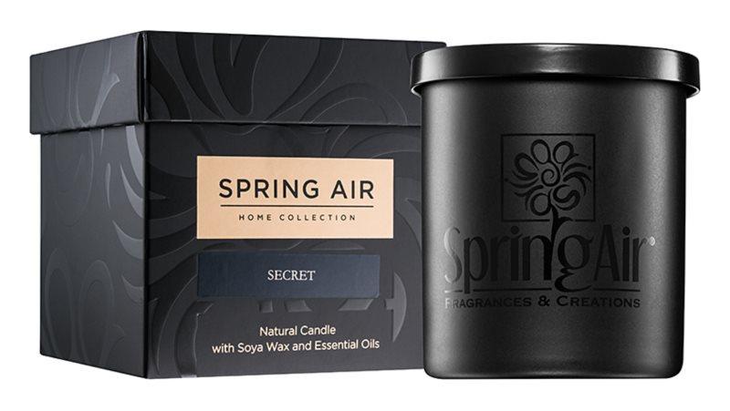 Spring Air Home Collection Secret candela profumata 235 ml