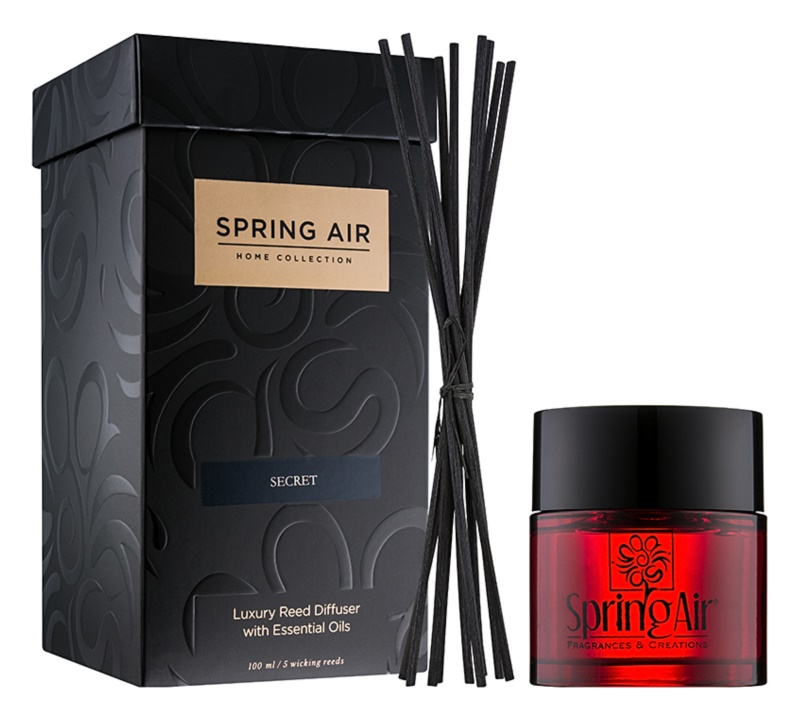 Spring Air Home Collection Secret diffuseur d'huiles essentielles avec recharge 100 ml
