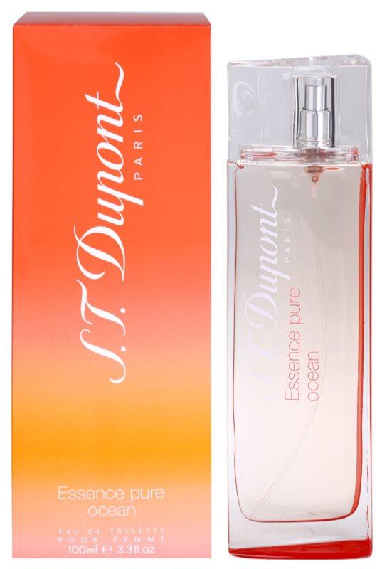 S.T. Dupont Essence Pure Ocean Pour Femme eau de toilette pentru femei 100 ml
