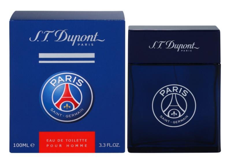 S.T. Dupont Paris Saint-Germain eau de toilette pentru barbati 100 ml