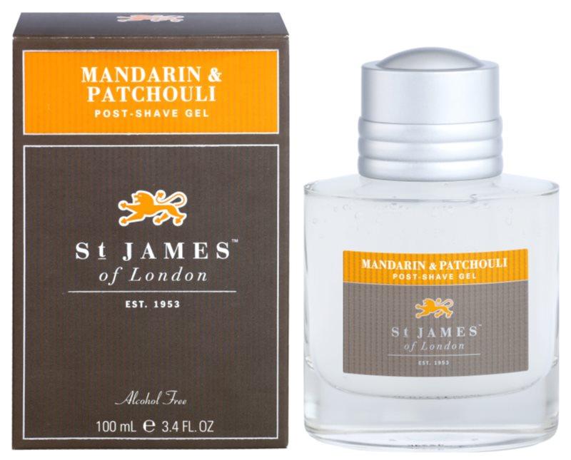 St. James Of London Mandarin & Patchouli gel after-shave pentru barbati 100 ml
