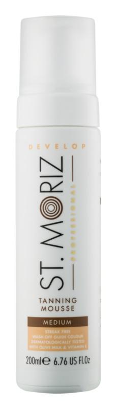 St. Moriz Self Tanning мус для автозасмаги