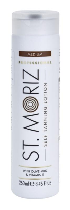 St. Moriz Self Tanning молочко для автозасмаги