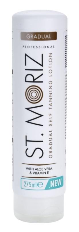 St. Moriz Self Tanning loção auto-bronzeadora para um bronzeado gradual