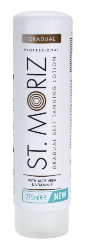 St. Moriz Self Tanning молочко для поступової автозасмаги
