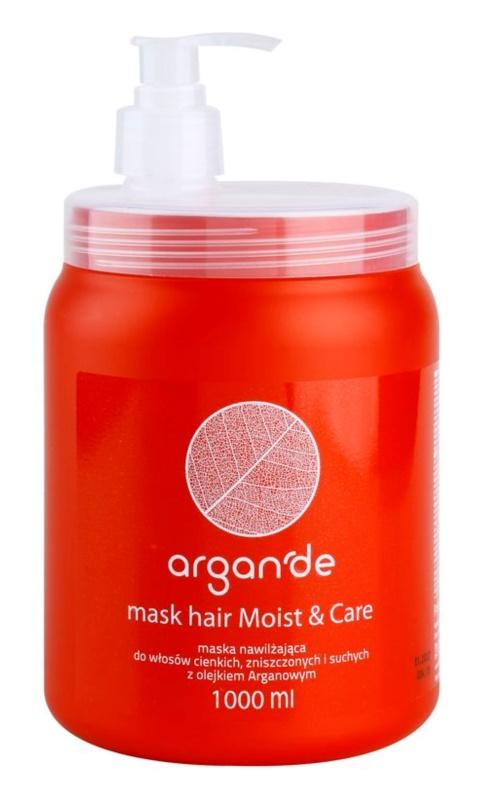 Stapiz Argan'de Moist&Care maseczka  do włosów suchych i zniszczonych