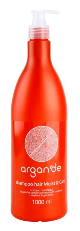 Stapiz Argan'de Moist&Care champô hidratante  com óleo de argan