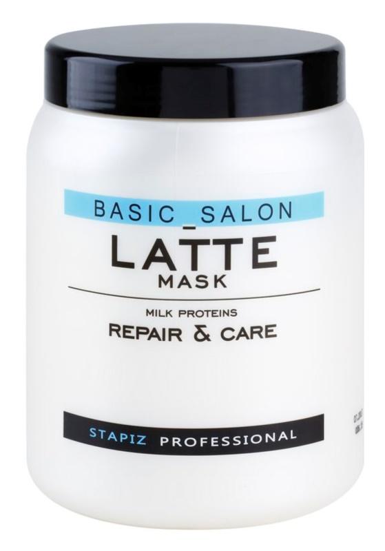 Stapiz Basic Salon Latte maseczka  z proteinami mleka
