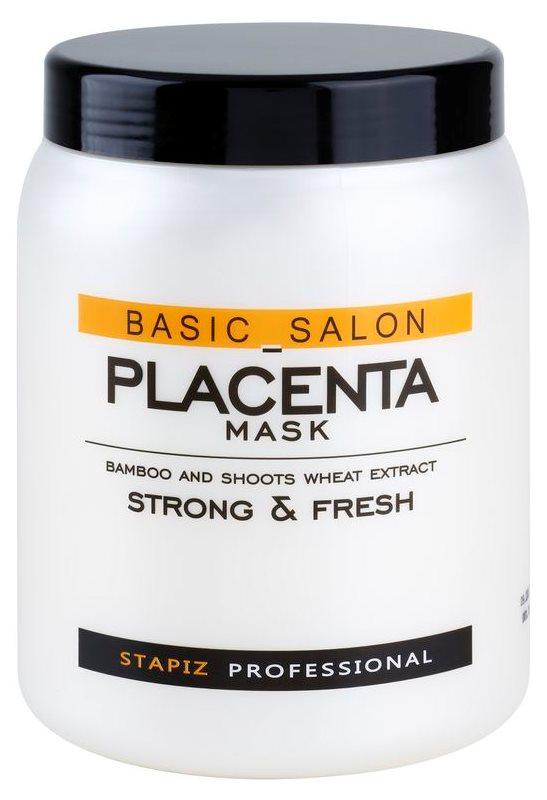 Stapiz Basic Salon Placenta hydratační maska pro lámavé a namáhané vlasy