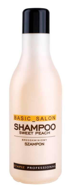Stapiz Basic Salon Sweet Peach champô para cabelo normal