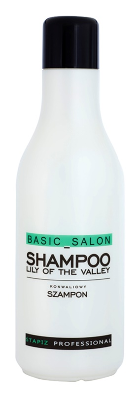 Stapiz Basic Salon Lily of the Valley champú para todo tipo de cabello