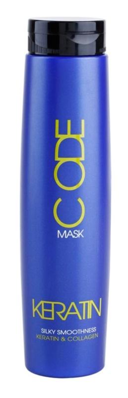 Stapiz Keratin Code máscara renovadora para cabelo seco a danificado