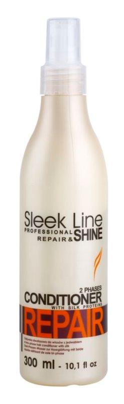 Stapiz Sleek Line Repair condicionador bifásico para cabelo seco a danificado